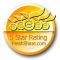 FreshShare - 5 Star Rating!