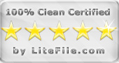 LiteFile - 100% Clean Certified!