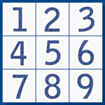 Sudoku Up 2011 - Jeans - new Fonts and Numbers