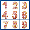 Sudoku Up 2010 - Numbers - Fun Numbers - Jewelry Red