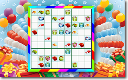 Sudoku Up 2014 - Celebration theme
