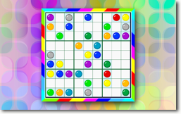 Sudoku Up 2014 - Colors theme