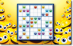 Sudoku Up 2014 - Emoticons theme