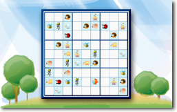 Sudoku Up 2014 - Fun Animals theme