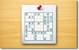 Sudoku Up 2014 - Push Pin theme