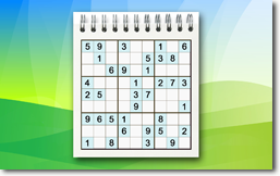 Sudoku Up 2014 - Spiral Notepad theme