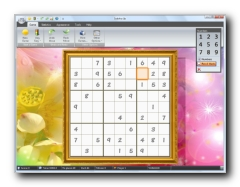 Sudoku Up's Layout screenshot with the NEW Ribbon Interface
