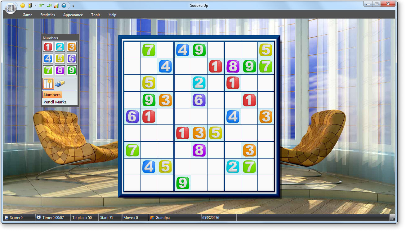 TreeCardGames Sudoku Up 2010 v4.0