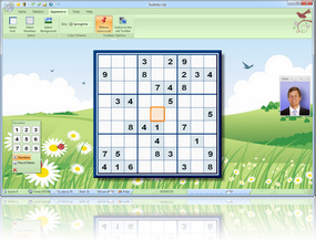 Sudoku Up 2010 Springtime Skin screenshot